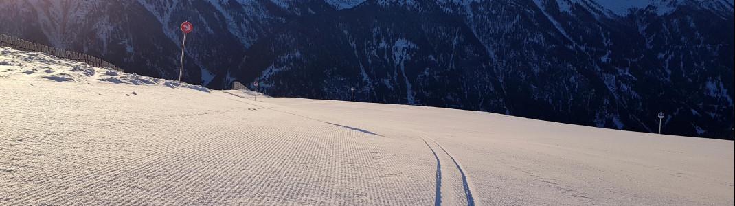 Early Bird Skiing in Kappl ist im normalen Skipass inklusive.