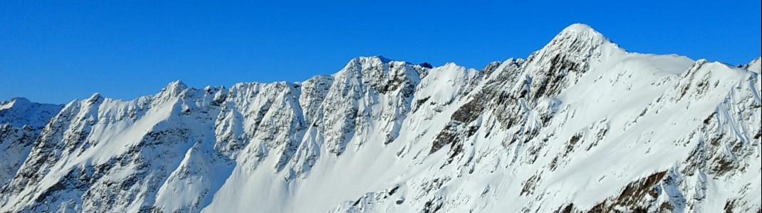 Gute Schneesicherheit während der ganzen Wintersaison.