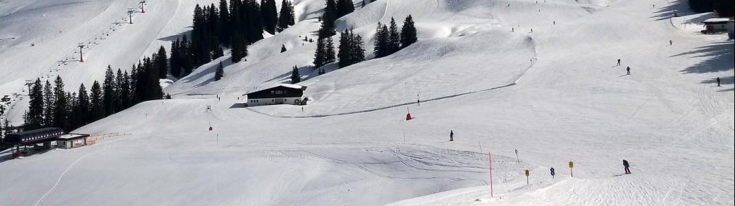 Von Oktober bis Mai laufen die Lifte in Kitzbühel