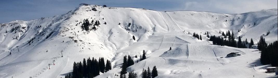 Kitzbühel ist vom Schneefall verwöhnt