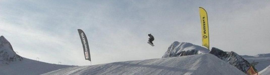 Air über den Kicker