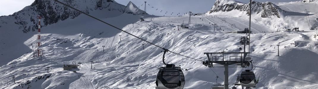 Das Kitzsteinhorn punktet mit einer besonders langen Skisaison.