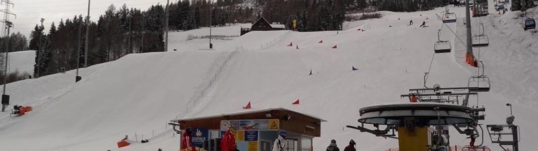 WM-Arena Slalom Parcours