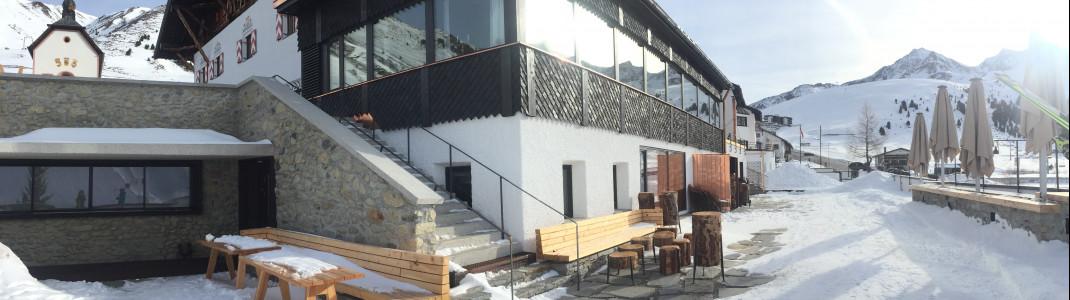 Die Schlossbar unterhalb des Jagschlosses ist Ziel für einen gediegenen Après Ski Abend