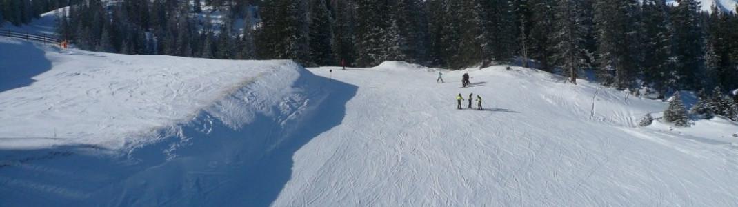 Blick auf den Grubigstein (2255 m)!