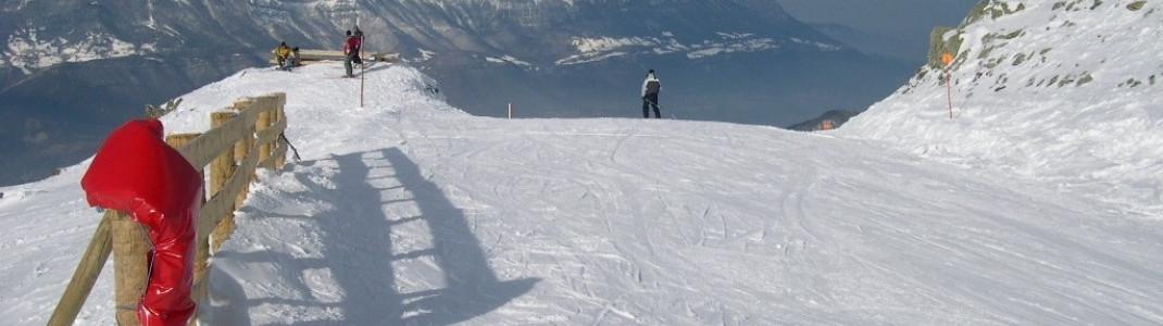 Der Blick auf das wunderschöne und sehr tiefe (nur 200m.ü.N.N) Tal der Isère!