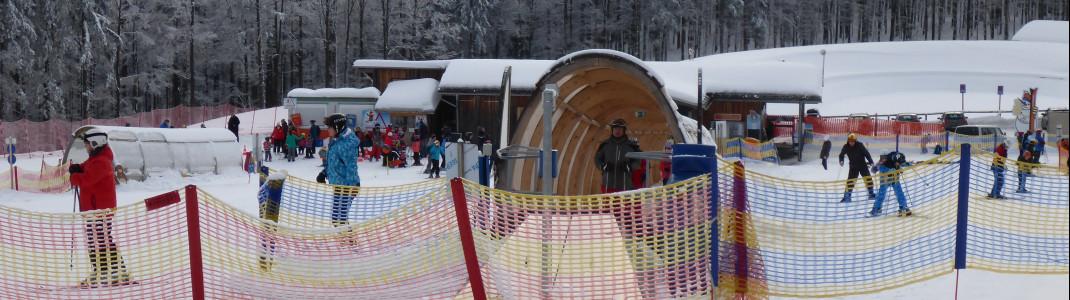 Der Junior Ski Zirkus ist ein herausragendes Angebot für Anfänger und Familien