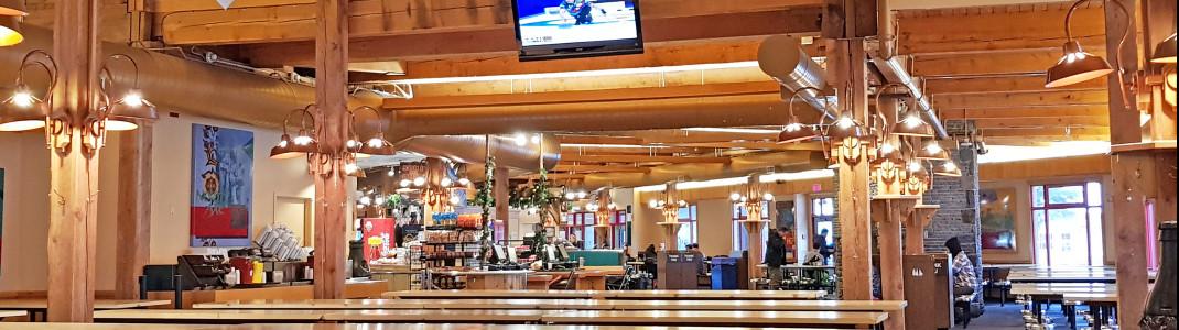 In der Nakiska Day Lodge kann man den Skitag gemütlich ausklingen lassen