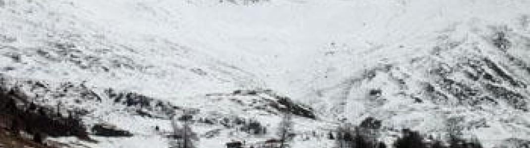 Blick zum Großen Schafkopf (3000 m)!