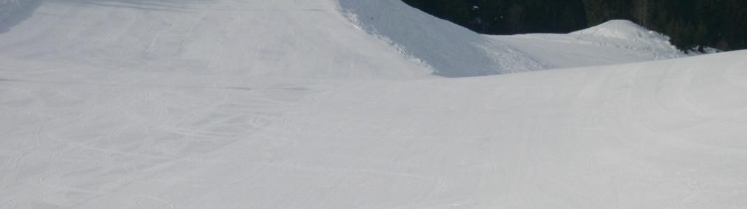 In Oberaudorf endet das Skivergnügen nicht mit der Dunkelheit: Hier gibt es die längste Flutlichtpiste Deutschlands
