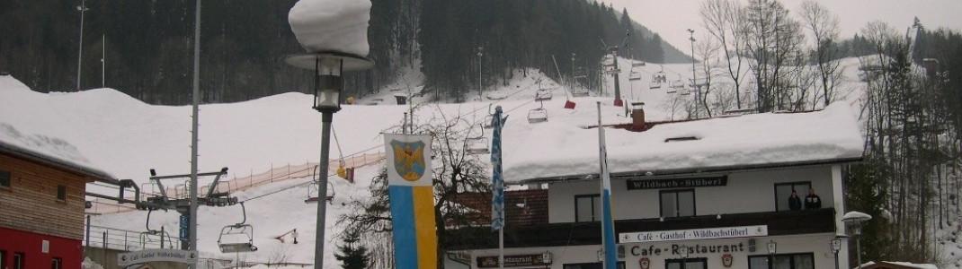 Der Parkplatz in Oberaudorf!