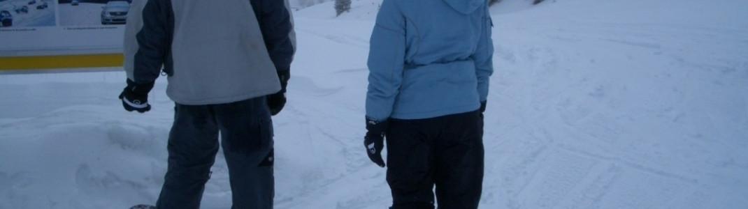 Gute Beschilderung des gesamten Skigebietes!