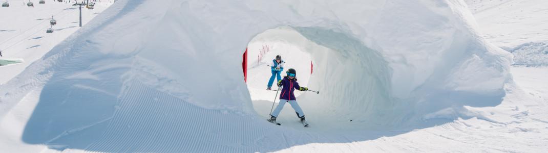 Das Freestyle-Angebot reicht von der Funslope bis zum Snowpark.