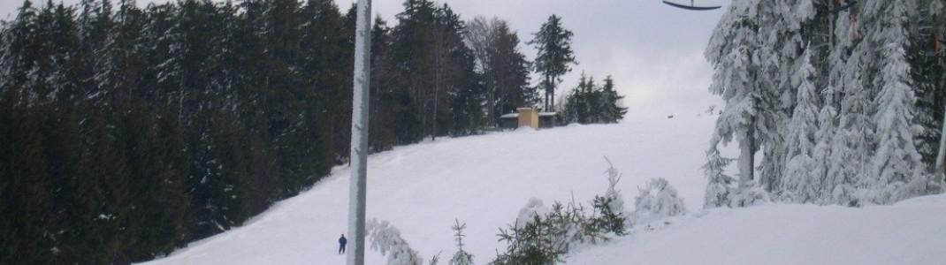 Vier Schlepplifte gibt es am Pröller