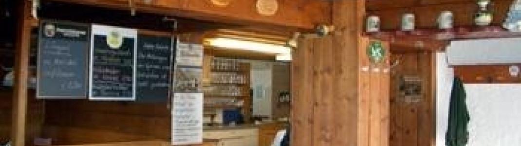 Rossfeld- Hütte!