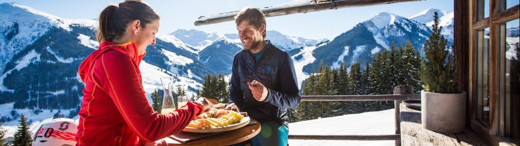 61 Skihütten und Bergrestaurants sprechen für sich.