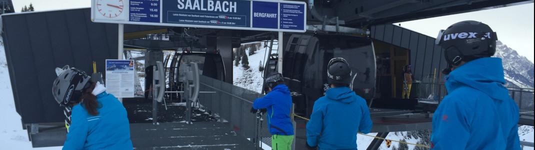 Die neue Verbindung zwischen Saalbach und Fieberbrunn.