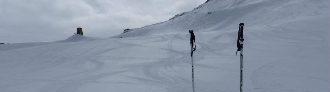 Top präpaierte Pisten im Skigebiet Schöneben