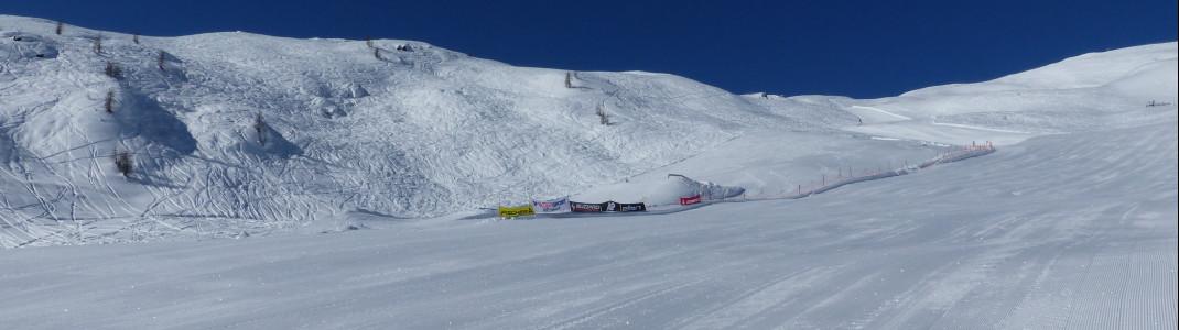 Der Snowpark im Skigebiet Sillian Hochpustertal liegt direkt an der roten Piste 2