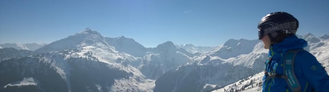 Der traumhafte Ausblick im Ski Juwel Alpbachtal Wildschönau!