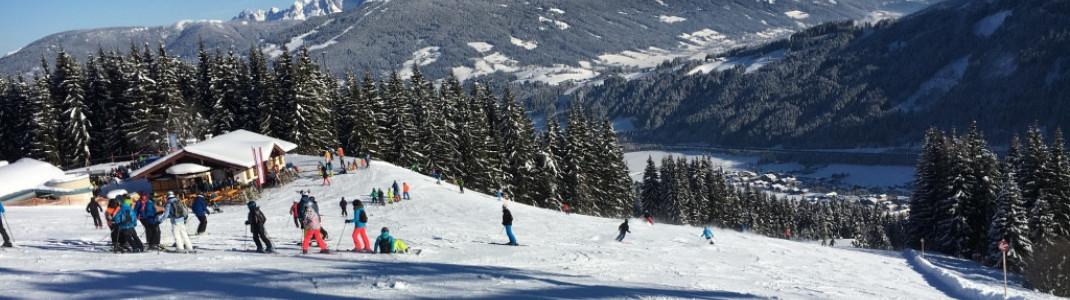 Im Snow Space Salzburg findet jeder ein gemütliches Plätzchen für den Einkehrschwung.