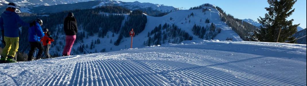 Für Könner gibt es im Snow Space Salzburg jede Menge geeignete Pisten.