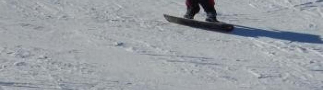 Snowboarder finden am Speikboden Pisten unterschiedlichsten Niveaus!