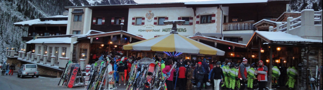Partystimmung am Alpensporthotel Mutterberg