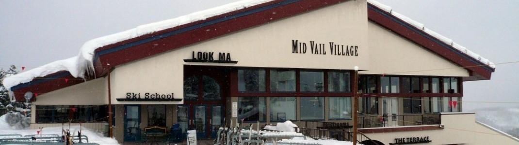 In Mid Vail trifft sich, wer nach Liftschluss nicht sofort ins Tal will!