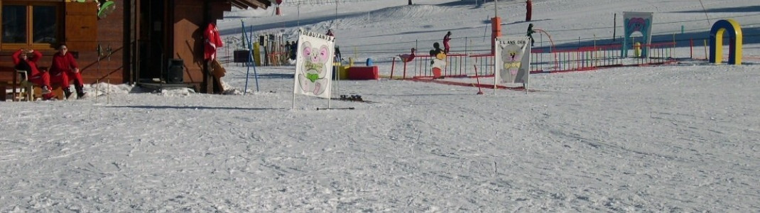 Kinderpark an der Bergstation der Pre des Preys-Gondelbahn!