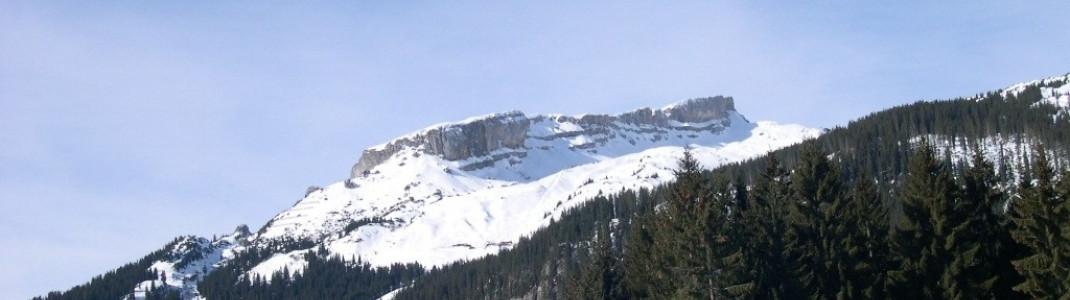 Der Bergrücken Hoher Ifen (2228 m)!