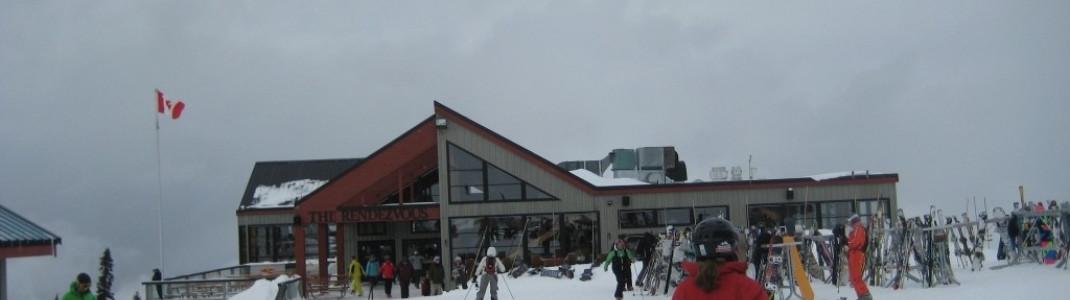 Rendezvous Lodge an der Peak2Peak Station in Blackcomb!