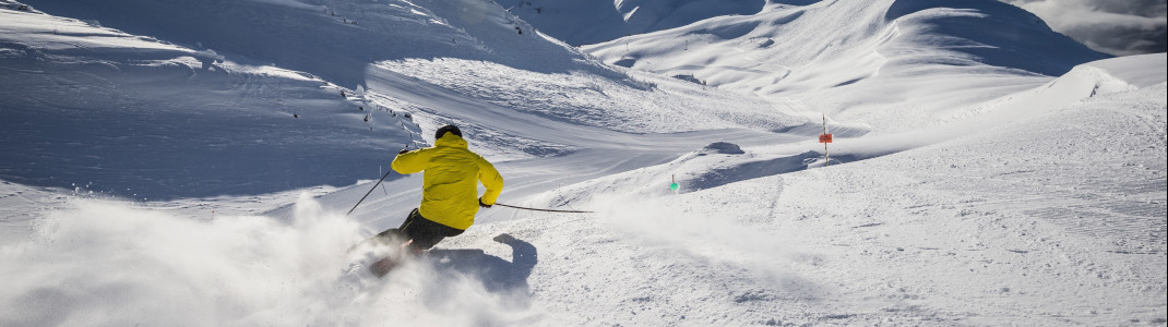 Für gute Skifahrer ist Whistler Blackcomb ein Paradies.