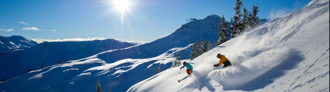 Für genügend Schnee ist in Whistler gesorgt.