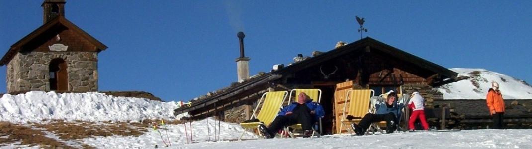 Wolkenstein- Hütte!