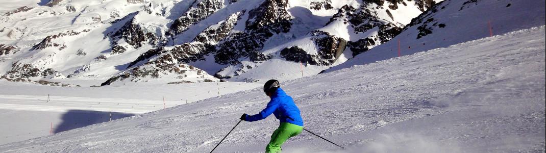 Profis können sich auf den schwarzen Pisten von Zermatt austoben