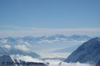 Traumhafter Blick in die deutschen Alpen!