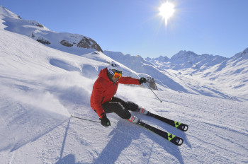 Ischgl-Samnaun features 238 kilometres of slopes.
