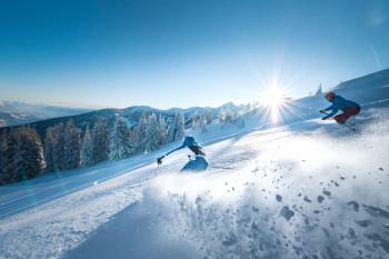 Ski amadé connects 25 ski resorts in Salzburg and Styria.
