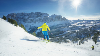 Val Gardena is also among the top ski resorts worldwide.