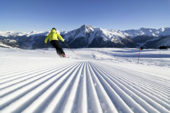 Schöneben-Haideralm boasts perfectly groomed slopes.