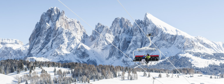 Seiser Alm is the biggest high alp in Europe.