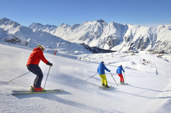 Ischgl has great piste conditions as well as cool après-ski locations.