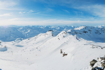A combined 600 kilometers of groomed runs make Les 3 Vallées the world's largest ski resort.
