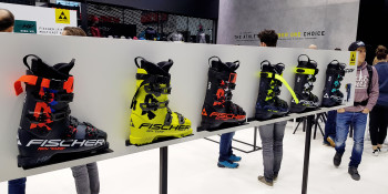 Ski boots are available in different degrees of stiffness.