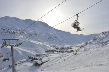 Ski Arlberg is the biggest connected ski area in Austria.
