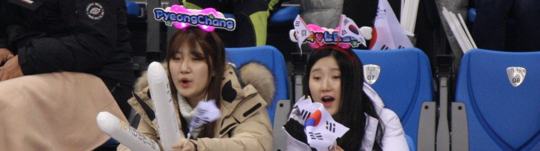 Being quite reserved most of the time, the Korean fans actually do love everything that flashes and makes a racket.