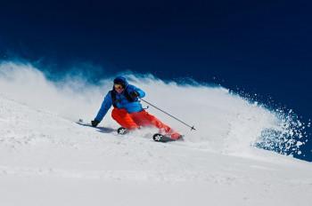 """Für ambitionierte Skifahrer ist die berühmte Abfahrt """"Germain Mattis"""" ein Muss."""