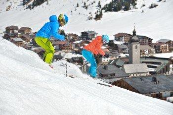 Auf den zahlreichen Pisten am Arlberg fühlen sich Familien ebenso wohl wie Profis und Freerider.