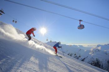Das Après-Ski-Mekka Ischgl überzeugt auch mit besten Pistenverhältnissen.